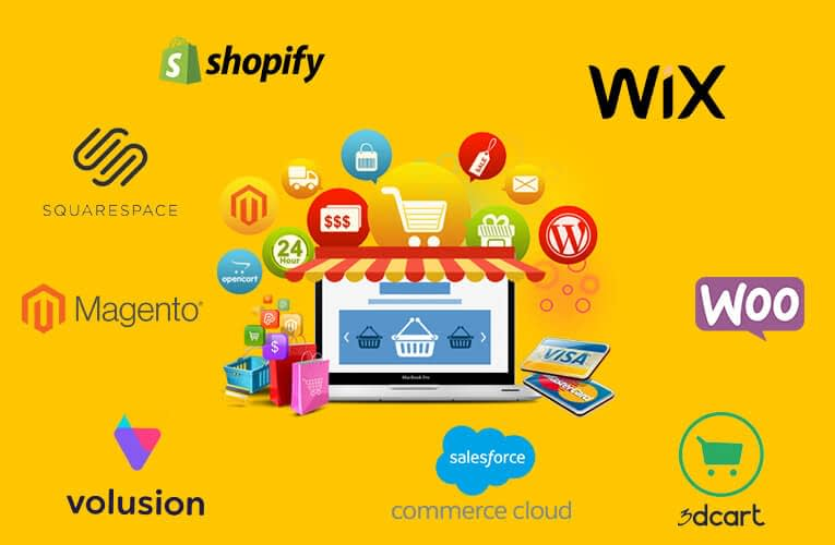 Top 10 Best eCommerce Platforms in 2021 || Features, Uses with Pros and Cons 2